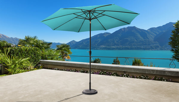 11' Outdoor Market Umbrella for Kathy Ireland Homes & Gardens