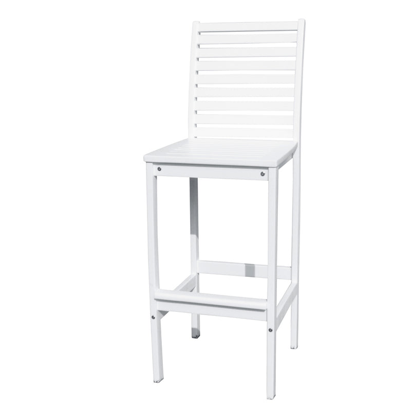 AUKI Outdoor Bar Chair in White