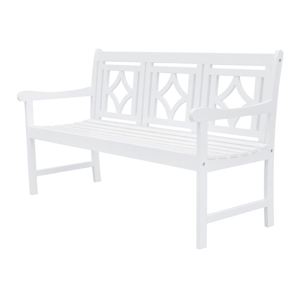 AUKI Outdoor Patio Diamond 5-foot Bench