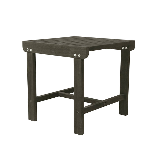 LATA Outdoor Patio Wood Side Table