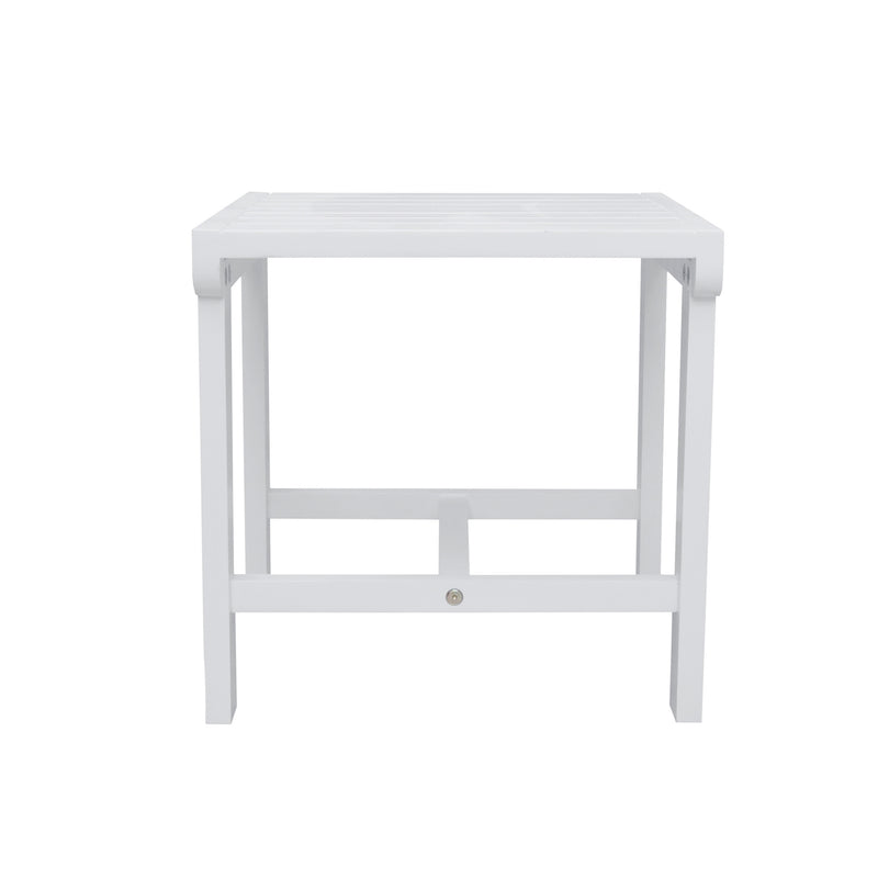 AUKI Outdoor Patio Wood Side Table