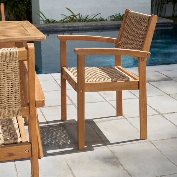 RATU  Wood Dining Chair - Set of Two