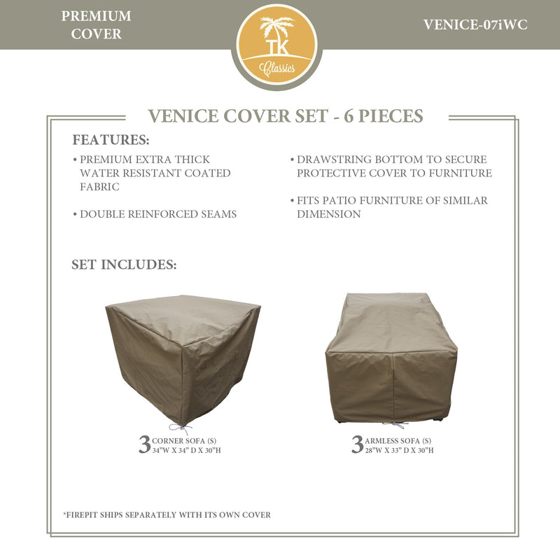 VENICE-07i Protective Cover Set, in Beige