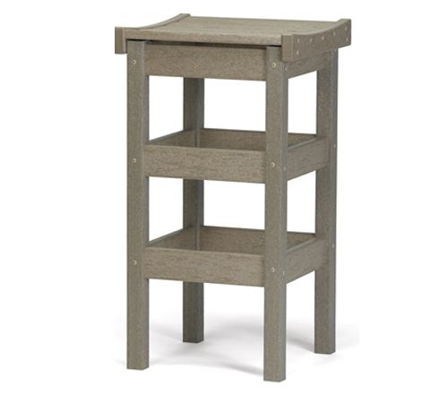 "Contoured Seat 30"" High Bar Stool by Breezesta"