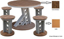 Outdoor Manhattan 5 Piece Rise Table Set by Wildridge