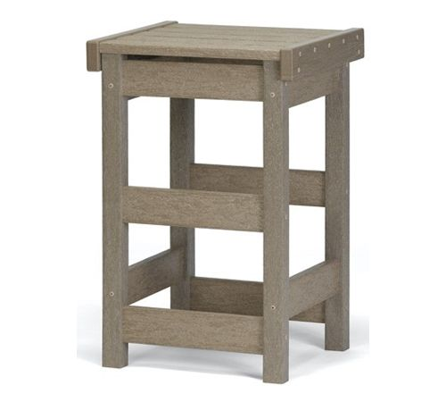 "Flat Seat 25"" High Counter Stool by Breezesta"