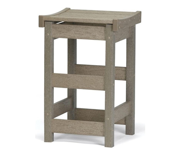 "Contoured Seat 25"" High Counter Stool by Breezesta"