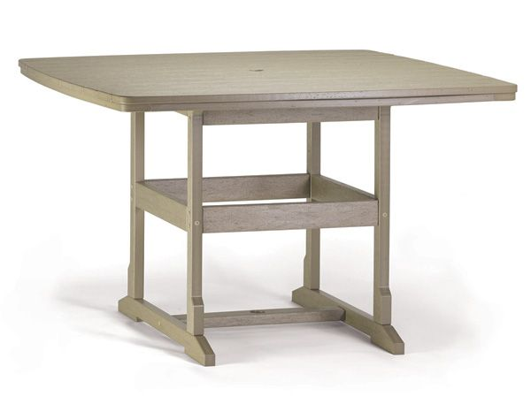 "58"" x 58"" Counter Table by Breezesta"