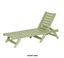 Chaise Lounge Chair with Wheels by Breezesta