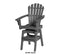 Coastal Swivel Bar Chair by Breezesta