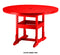 "48"" Round Dining Table by Breezesta"