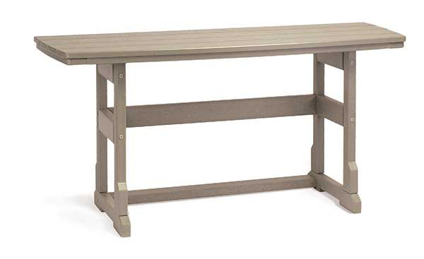 "21"" x 60"" Dining Height Terrace Table by Breezesta"
