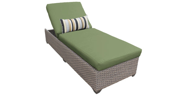 Florence Chaise Outdoor Wicker Patio Furniture