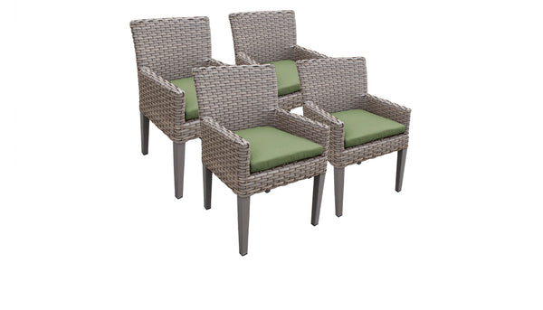 4 Florence Dining Chairs With Arms