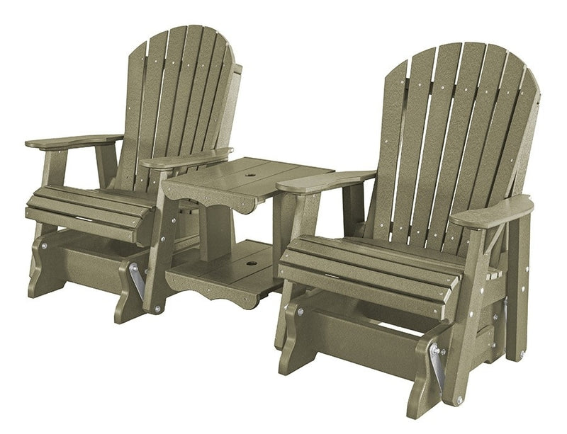 Heritage Double Rock-A-Tee Patio Glider by Wildridge