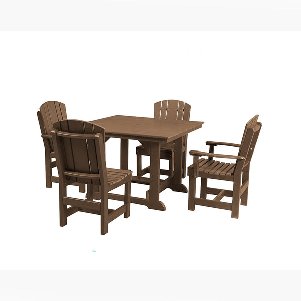 5 Piece Patio Dining Set with 2 Dining Chairs and 2 Arm Chairs by Wildridge