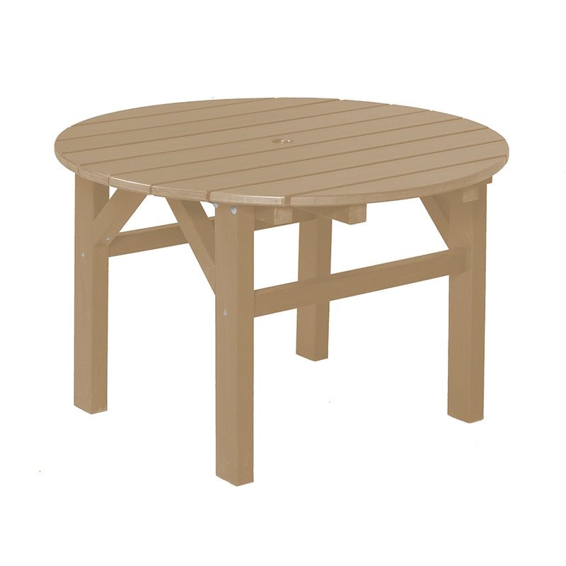 "Classic Round Occasional Table 33"" by Wildridge"