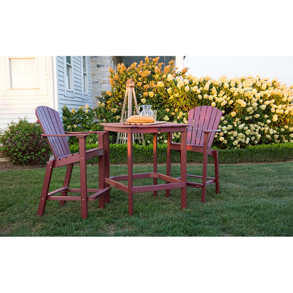 Classic 3 Piece High Dining Table with 2 High Dining Chairs by Wildridge