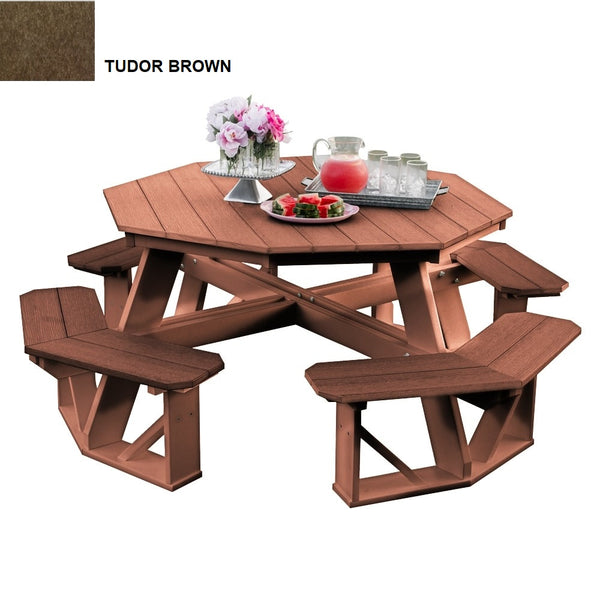 Heritage Octagon Picnic Table by Wildridge