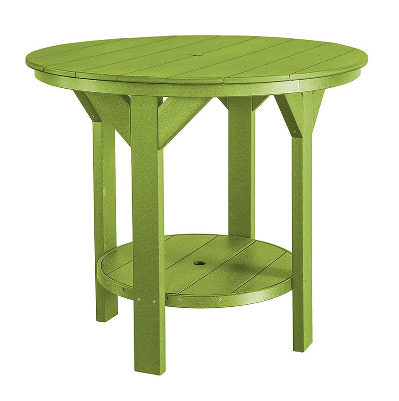 Heritage 48 inch Round Pub Table by Wildridge