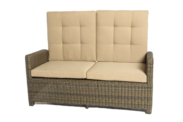 Fiji - Loveseat Reclining - Brown Wicker