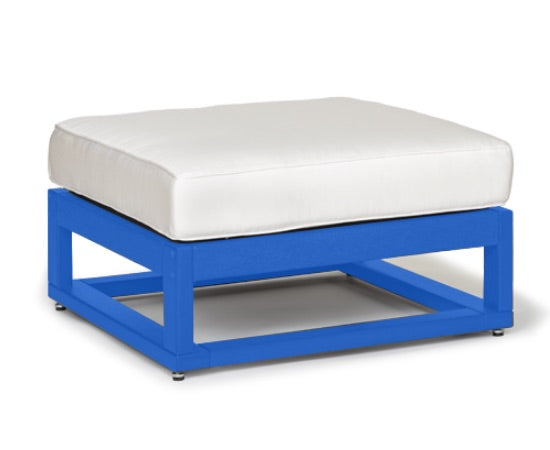 Palm Beach Square Ottoman (Frame Only) by Breezesta