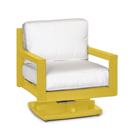 Palm Beach Club Swivel Rocker (frame only) by Breezesta