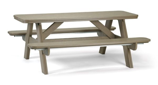 72 inch Picnic Table by Breezesta