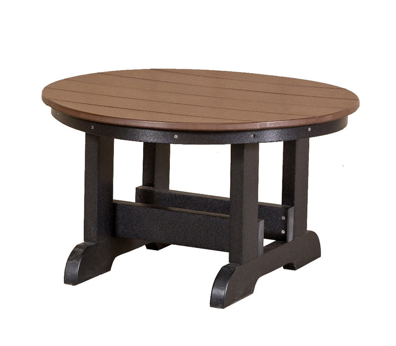 Heritage 32 inch Round Conversation Table by Wildridge