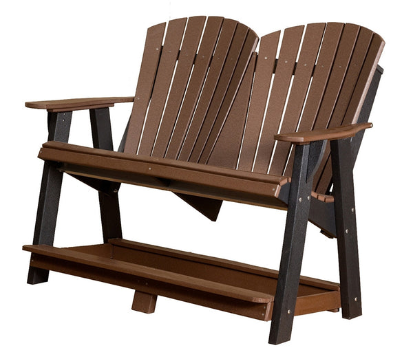 Heritage Double High Adirondack Bench by Wildridge
