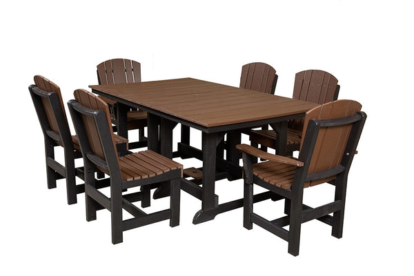 7 Piece Dining Set with 4 Dining Chairs and 2 Arm Chairs Set by Wildridge