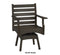 Piedmont Swivel Rocker Dining Chair by Breezesta