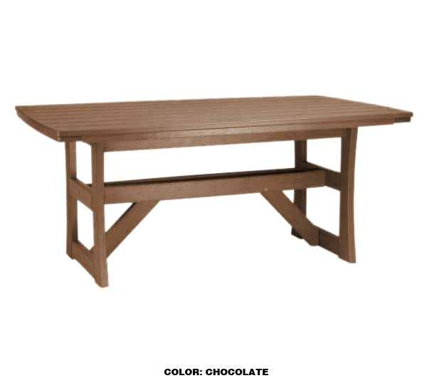 "Piedmont 42""x70"" Dining Table by Breezesta"