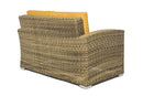 Suva - 4 Piece Conversation Set - Brown Wicker