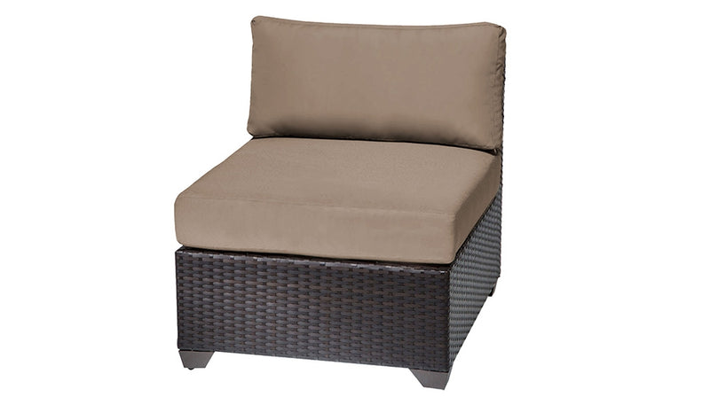 Barbados 3 Piece Outdoor Wicker Patio Furniture Set 03c