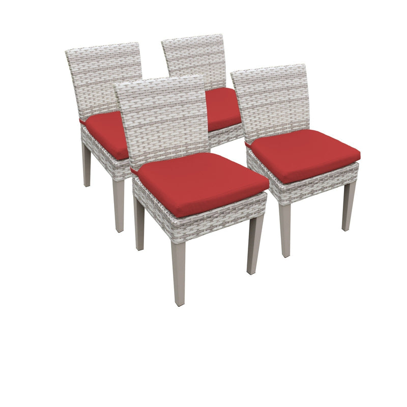 4 Fairmont Armless Dining Chairs