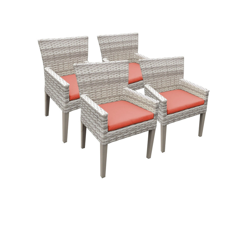 4 Fairmont Dining Chairs With Arms