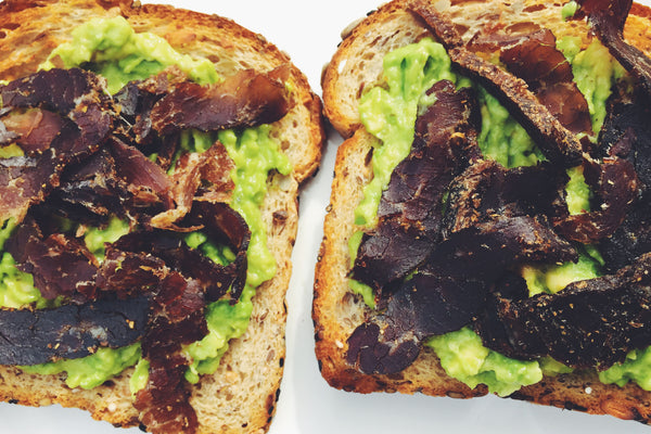 Avocado Biltong Toast