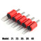 20pcs 30MM Disposable Flat/Magnum Tubes Black Soft Silicone Tattoo Grip Transparent Plastic Tubes