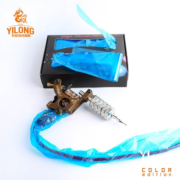 125/250 Pcs BlueTattoo Clip Cord Sleeves Bags Supply Disposable Covers Bags for Tattoo Machine Professional Tattoo Accessory