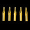 YILONG New 50pcs FT Flat Magnum Gold Shark Disposable Tattoo Tip Nozzle Supply