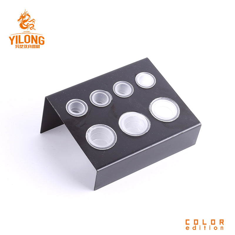 Yilong tattoo stainless steel/iron ink cap holder