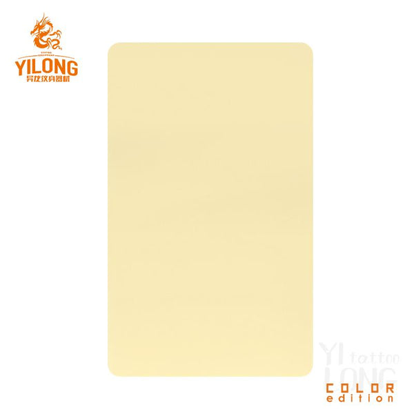 YILONG 5/10/20PCS Tattoo Practice Skin Sheet Blank Plain for Tattoo Needle Machine Supply Kit