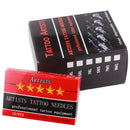Mix 60pcs/box Black cartridge needles 60pcs mixed tattoo cartridge needles free shipping