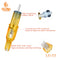 10pcs RM/RL/RS/M1 Yellow Disposable Tattoo Cartridge Needles Sterilized Charmant Permanent Makeup Machine Gun Tattoo Pen Accessories