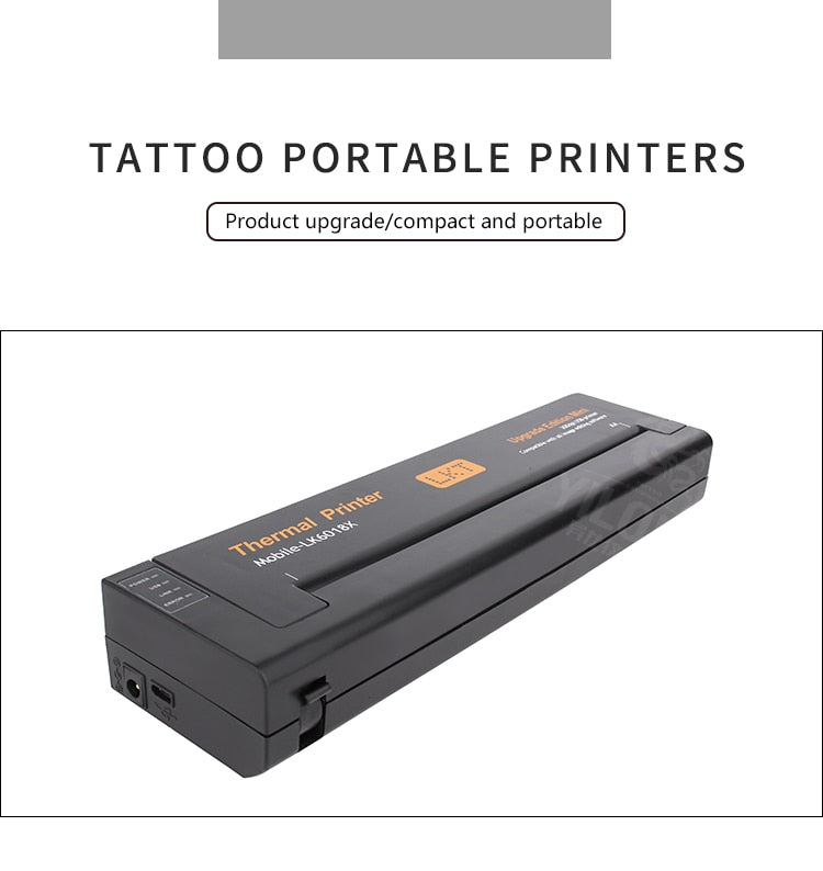 Temporary Tattoos Transfer Machine Printer Drawing Thermal Stencil Maker Copier for Tattoo Transfer Paper Copier Printer