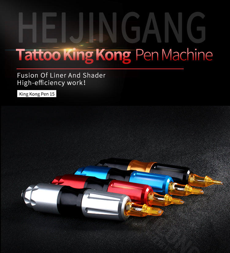 Professional Tattoo Rotary Machine Pen Quietly Motor Make up Brand Guns Supplies