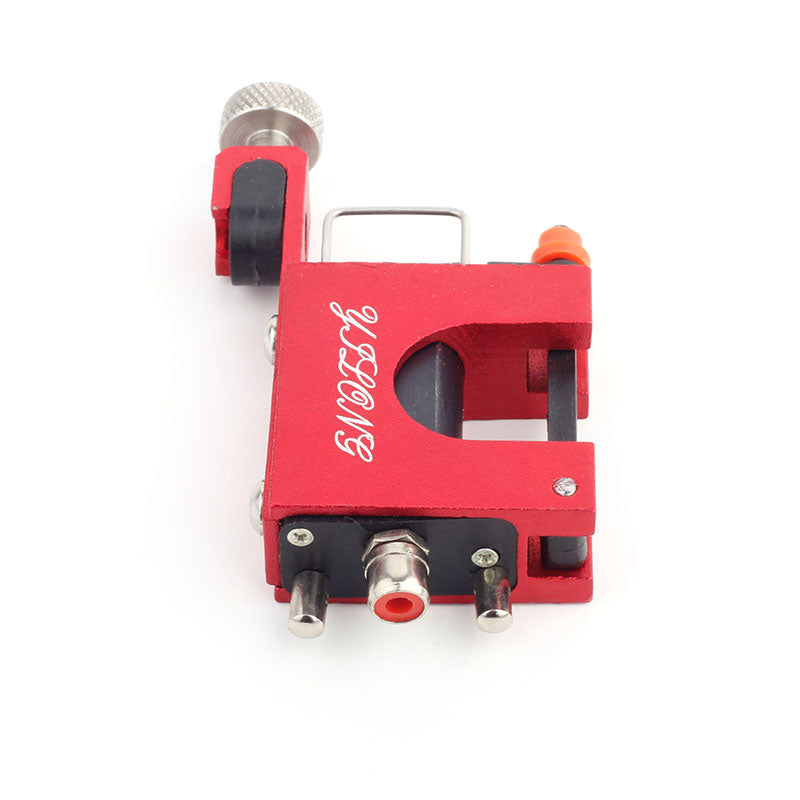 Rotary Tattoo Machine Gun Aluminum Frame Eccentric Steel Shader and Liner Three Colors for Beginner