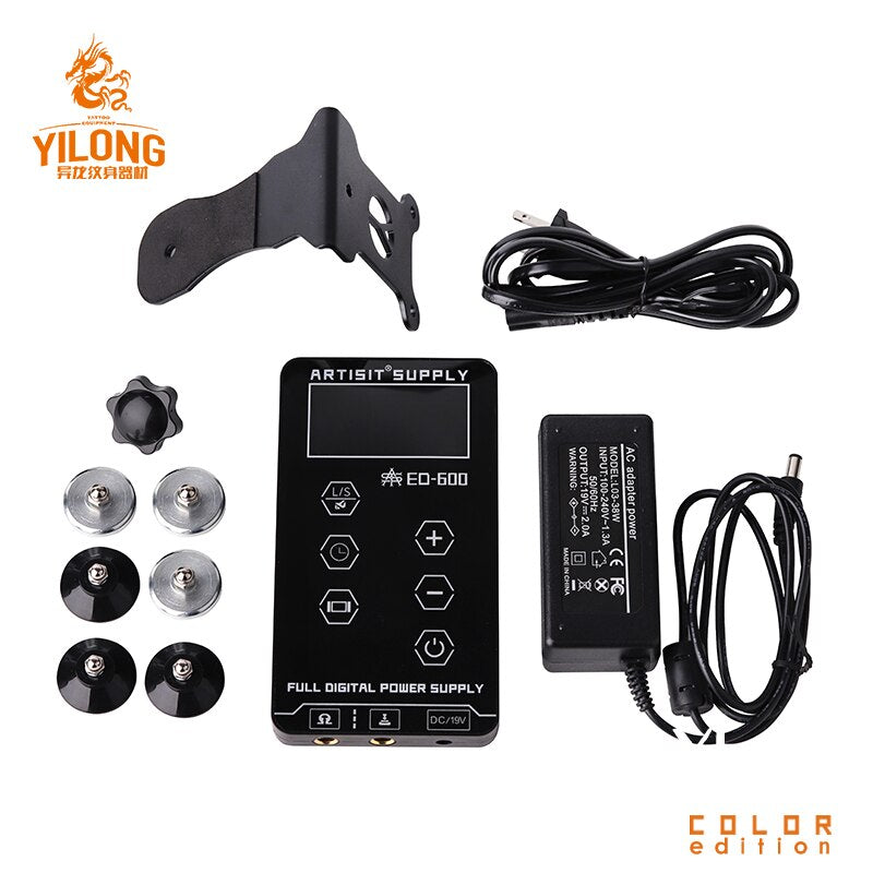 Professional Tattoo Power Supply Touch Screen Digital LCD for Tattoo Machines