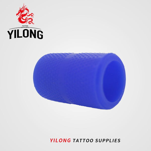 YILONG 1pcs Professional Tattoo Machine Grip Handle Holder Cover Silicone Great Creative blue green red black